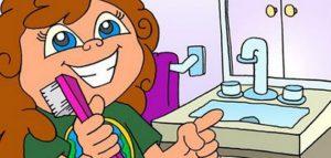 غسل_الأسنان_للأطفال