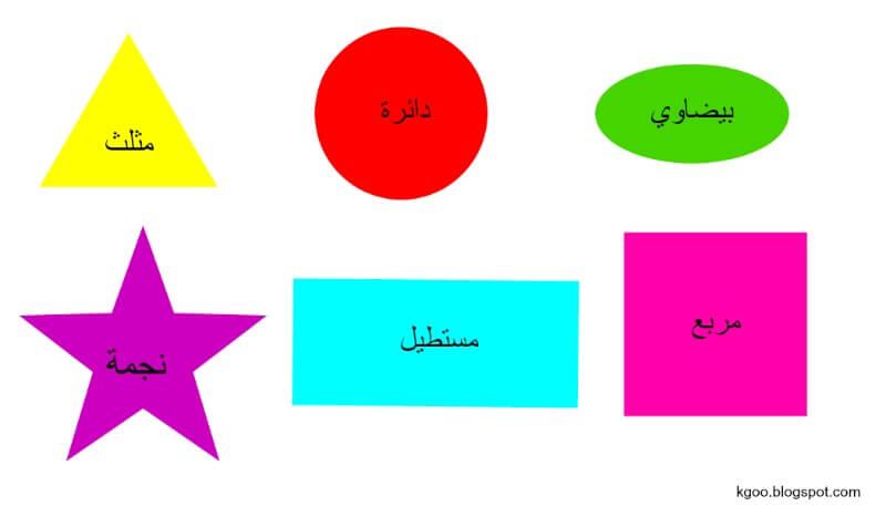 أشكال_هندسية_للأطفال