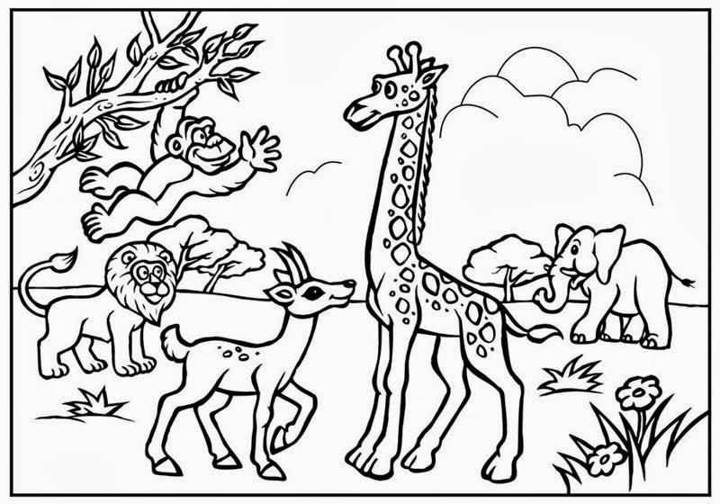حيوانات_للتلوين_للأطفال